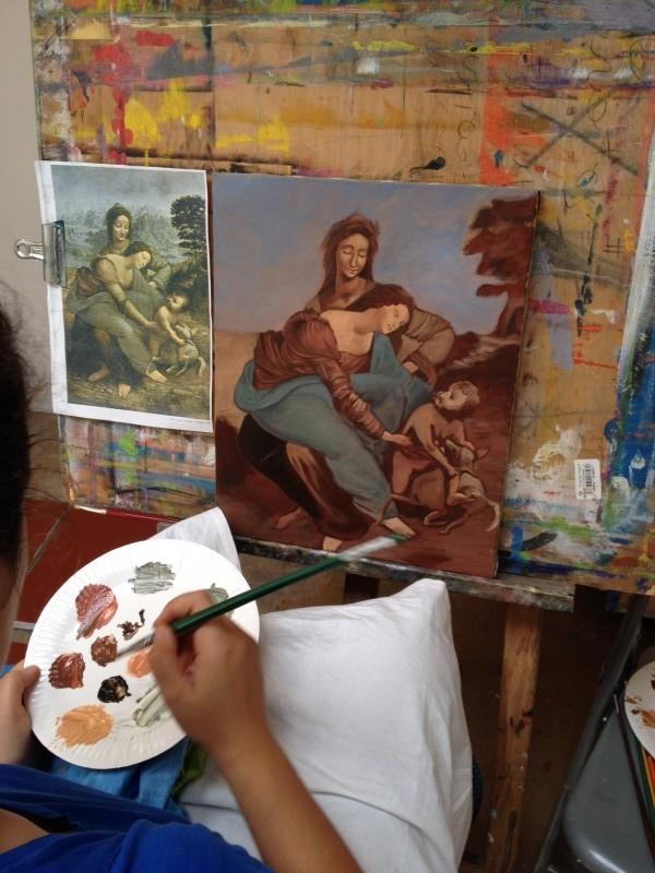 Stage de peinture à l'huile du 4 au 8 juillet 2016 (dans la limite des places disponibles)