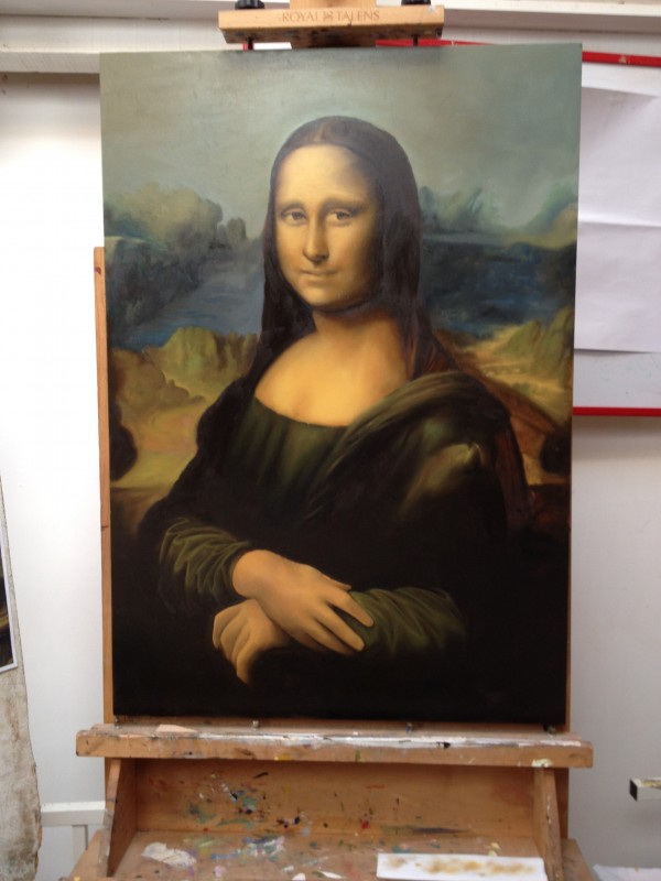 La Joconde (Léonard de Vinci)