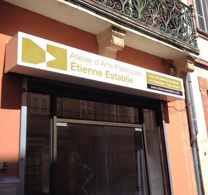 Ouverture de l'atelier au 64 bis de le la rue de la Colombette en plein coeur de Toulouse