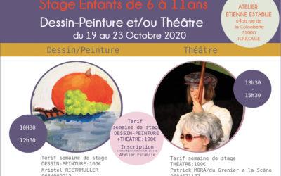 Stage arts plastiques et théâtre enfant